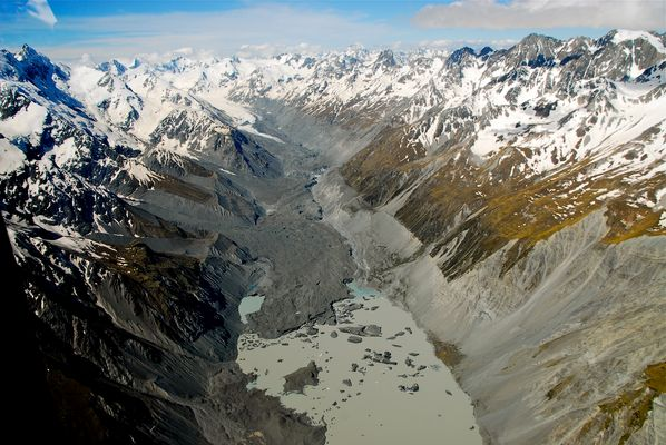 Tasman Glacier NZ
