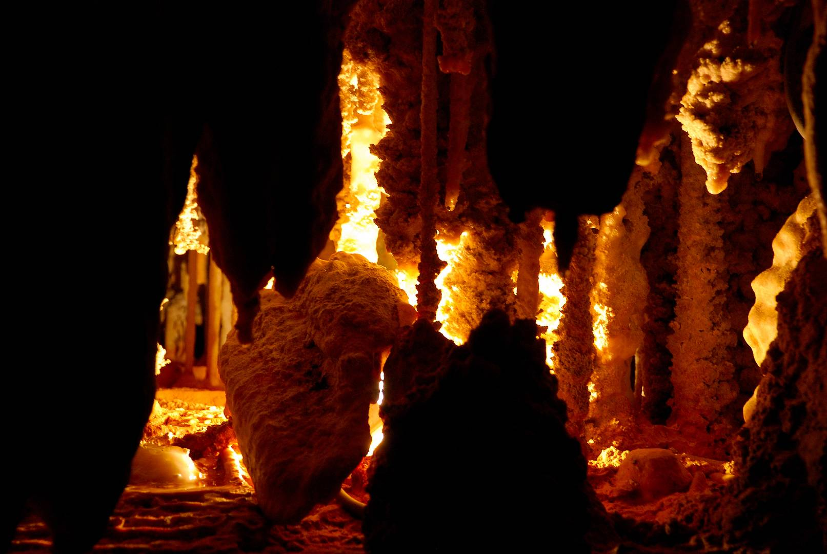 Tasmanien - Tropfsteinhöhle im Mole Creek Karst National Park -