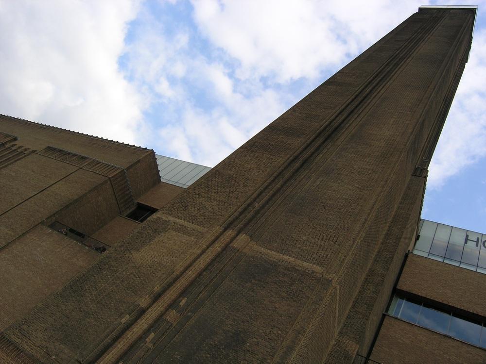 Tate Modern Fassadenansicht