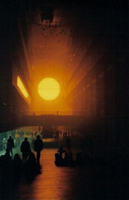 tate modern - the sun