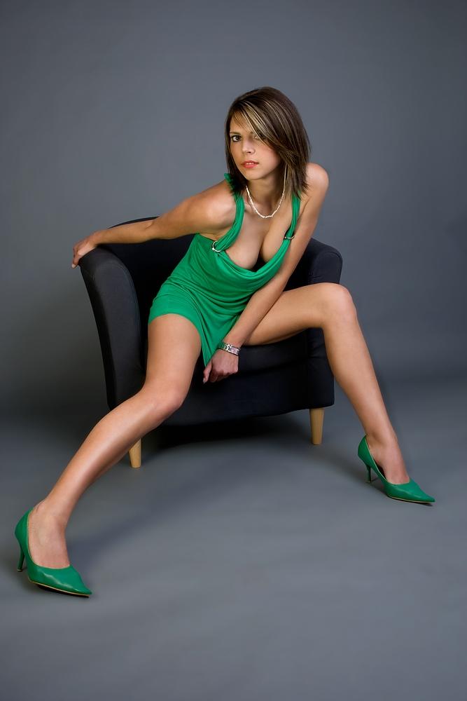 Tatjana ganz in grün