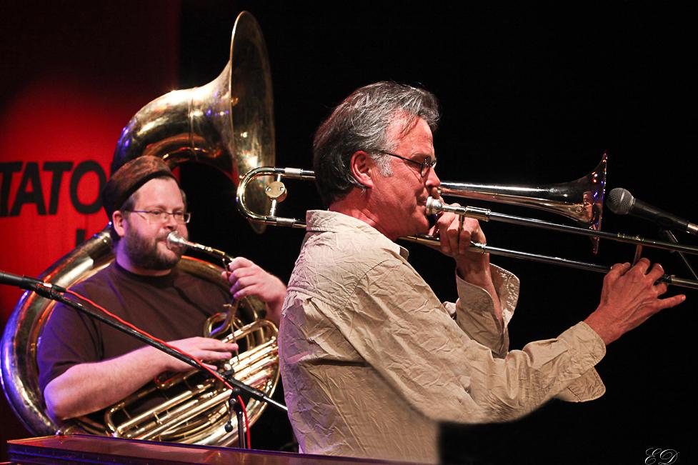 Tatort Jazz: Paul Hubweber und Alex Morsey
