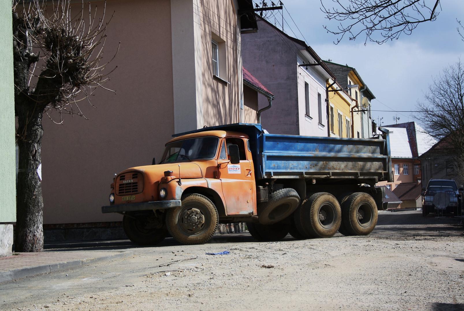 Tatra im Einsatz