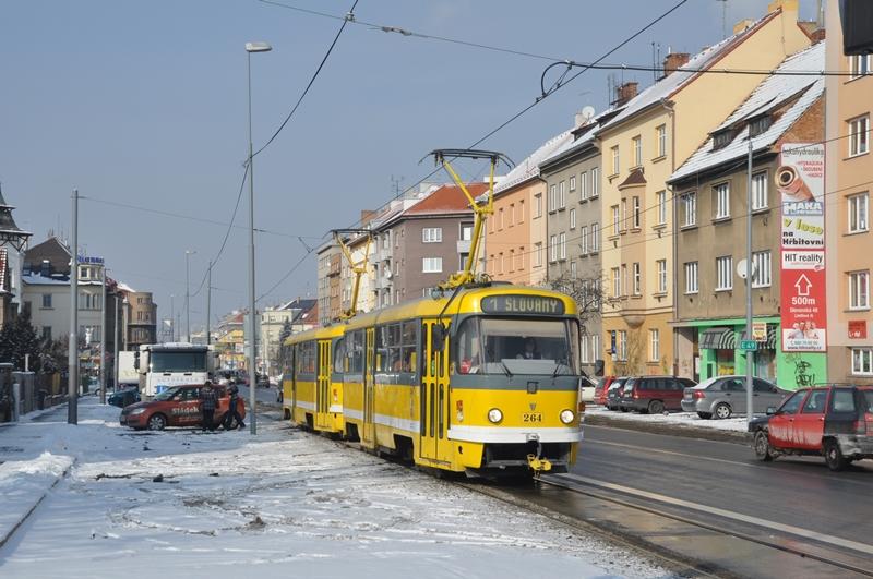 Tatra T3 in Plzen