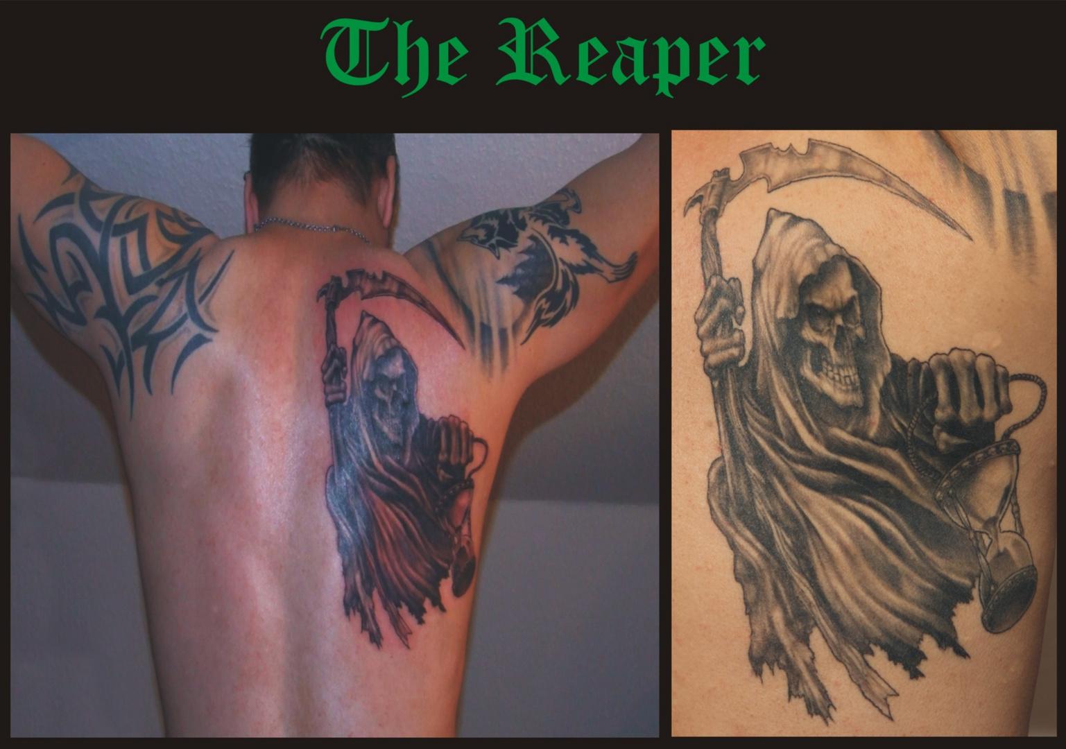 Tattoo The Reaper