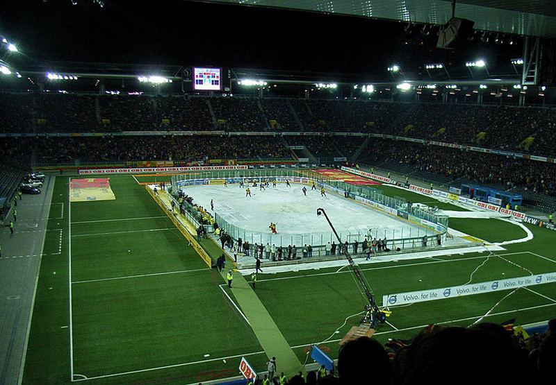 Tatze Derby SCL Tigers - SC Bern