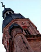 ...Taube auf der Kirchturmspitze...oder so...