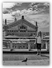 Taube Mädchen Staatsoper Paris