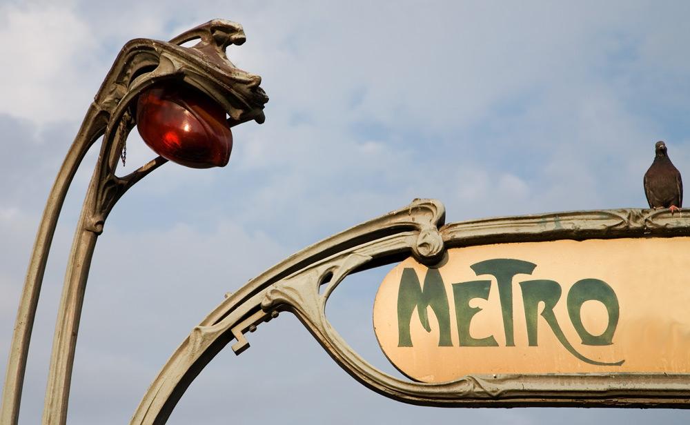 Taube trifft Art Deco Lampe