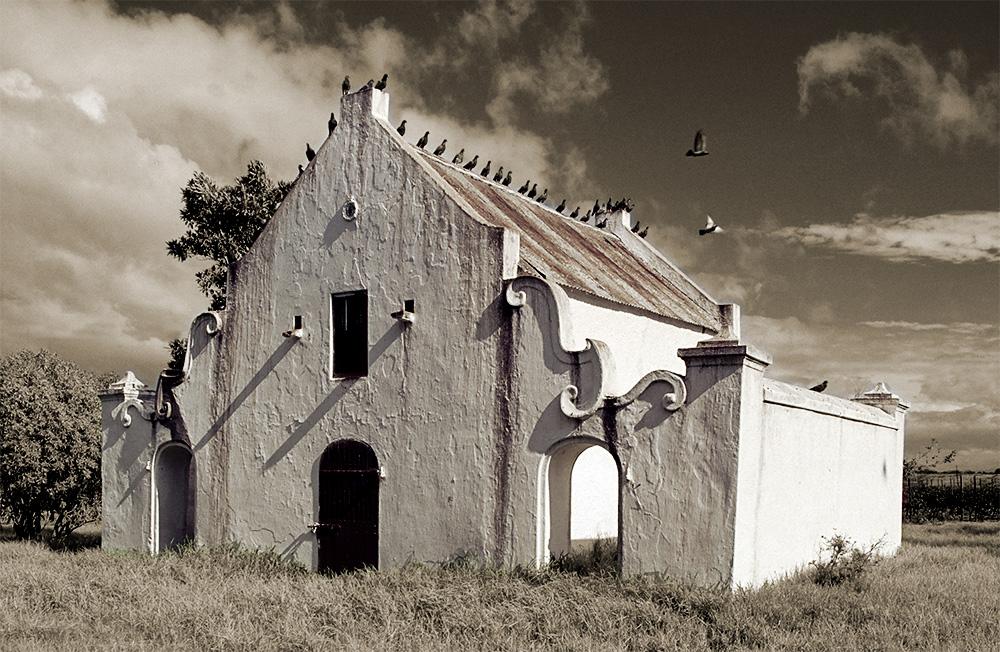 Taubenhaus Meerlust, Kap-Provinz. Südafrika