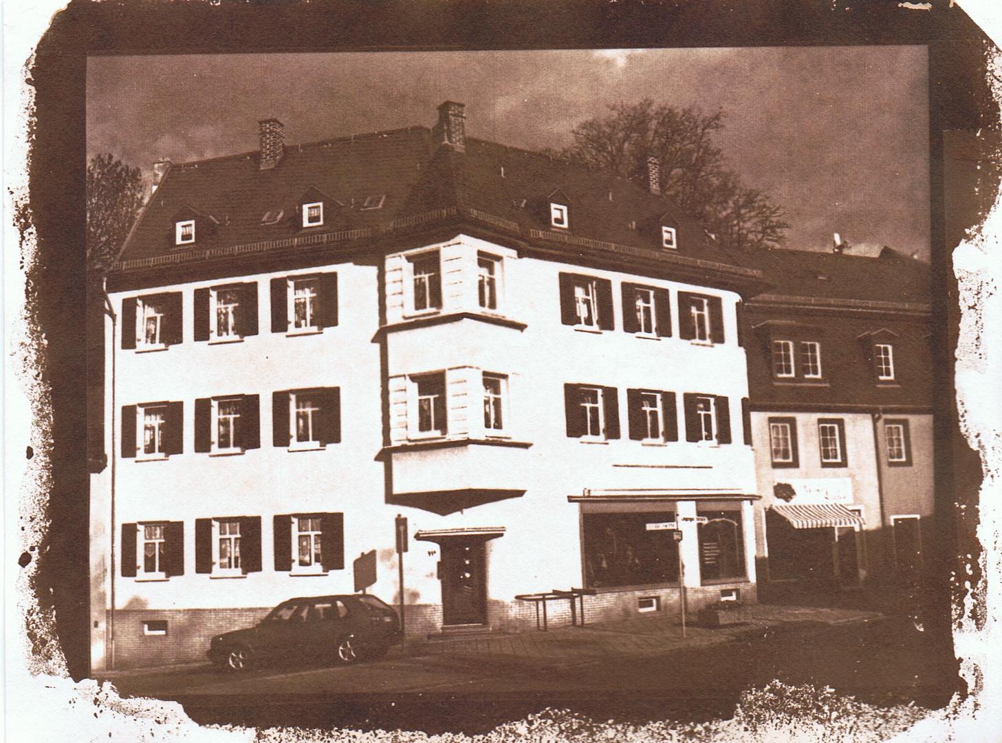 Taucha/ Sa., Eckhaus Leipziger Straße