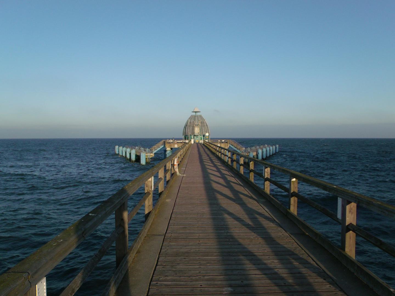 Tauchglocke, Seebrücke Sellin