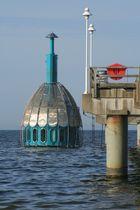 Tauchkapsel im Wasser Zinnowitz auf der Insel Usedom