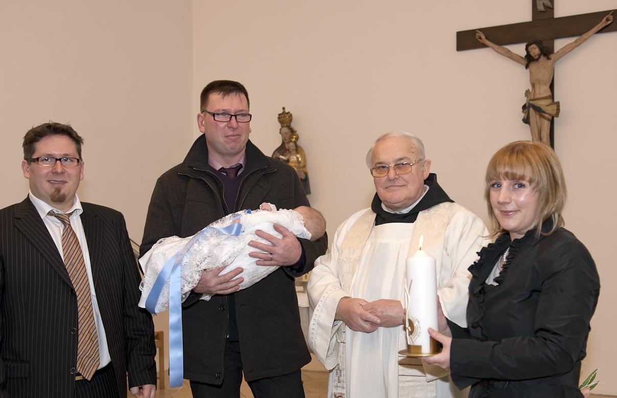 Taufe von Louis - heute in der Abtei Oberschönenfeld