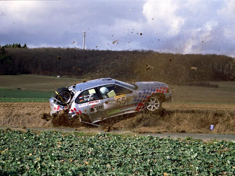 """Taunus-Rallye 2004 """"Da hilft auch das Gebetbuch nicht mehr weiter"""""""