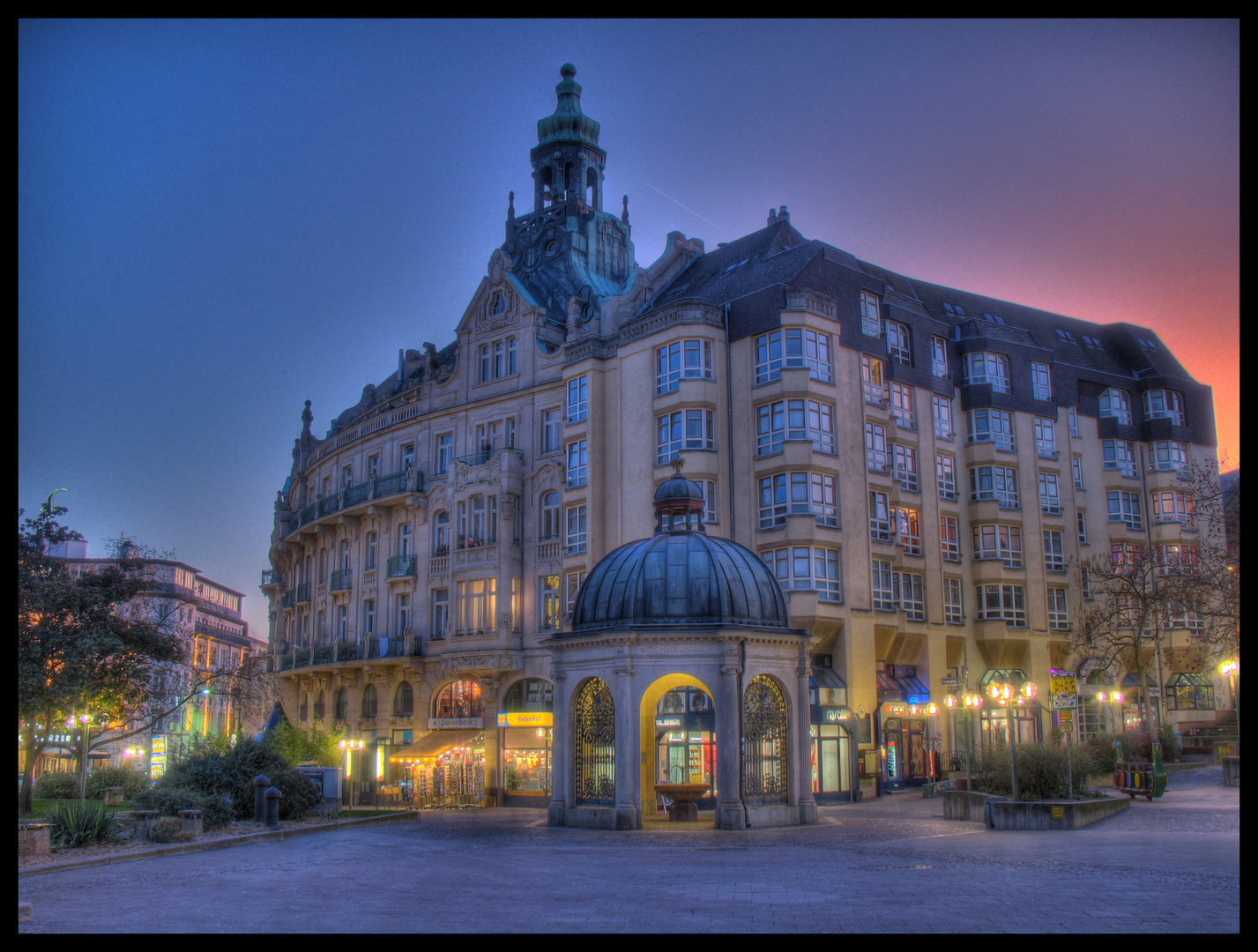 Taunusstraße Wiesbaden HDR
