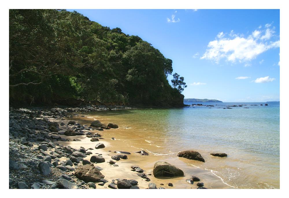Taupo Bay, Neuseeland