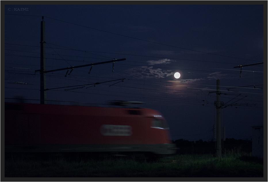 Taurus mit Mond