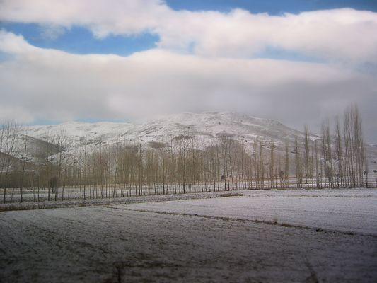 Taurusgebirge im Winter