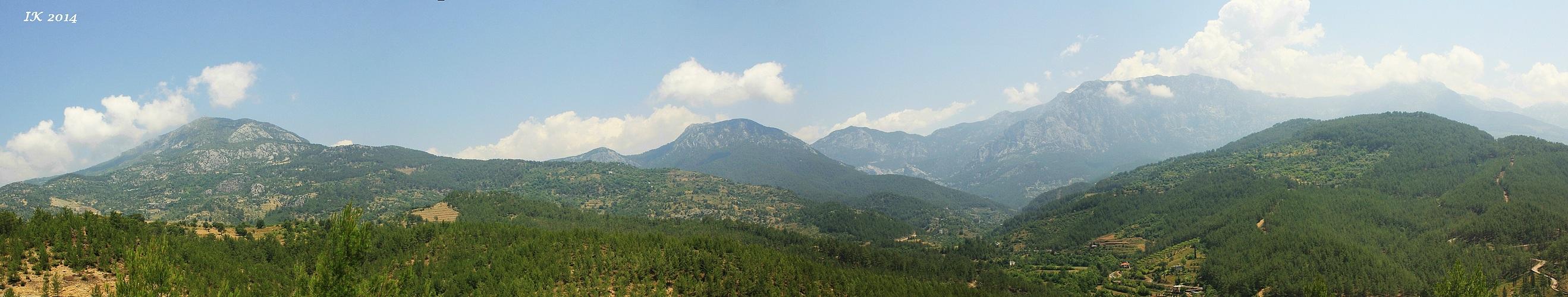 Taurusgebirge - Türkische Riviera