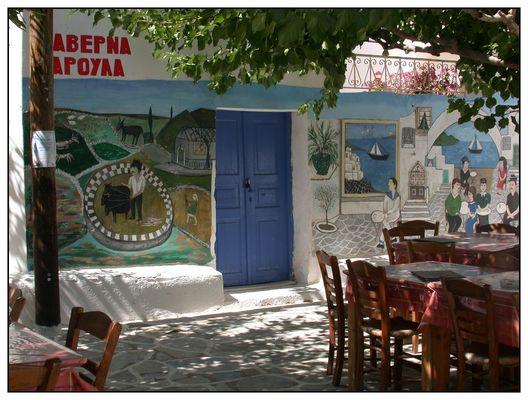 Taverne in Paros