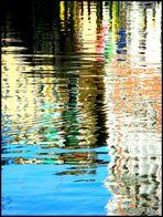 Tavolozza in un rio