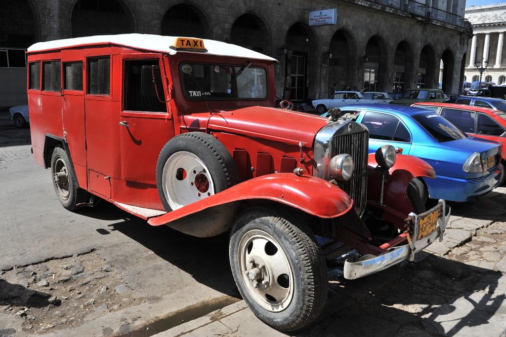 Taxi de La Habana