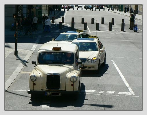 Taxi in Berlin...
