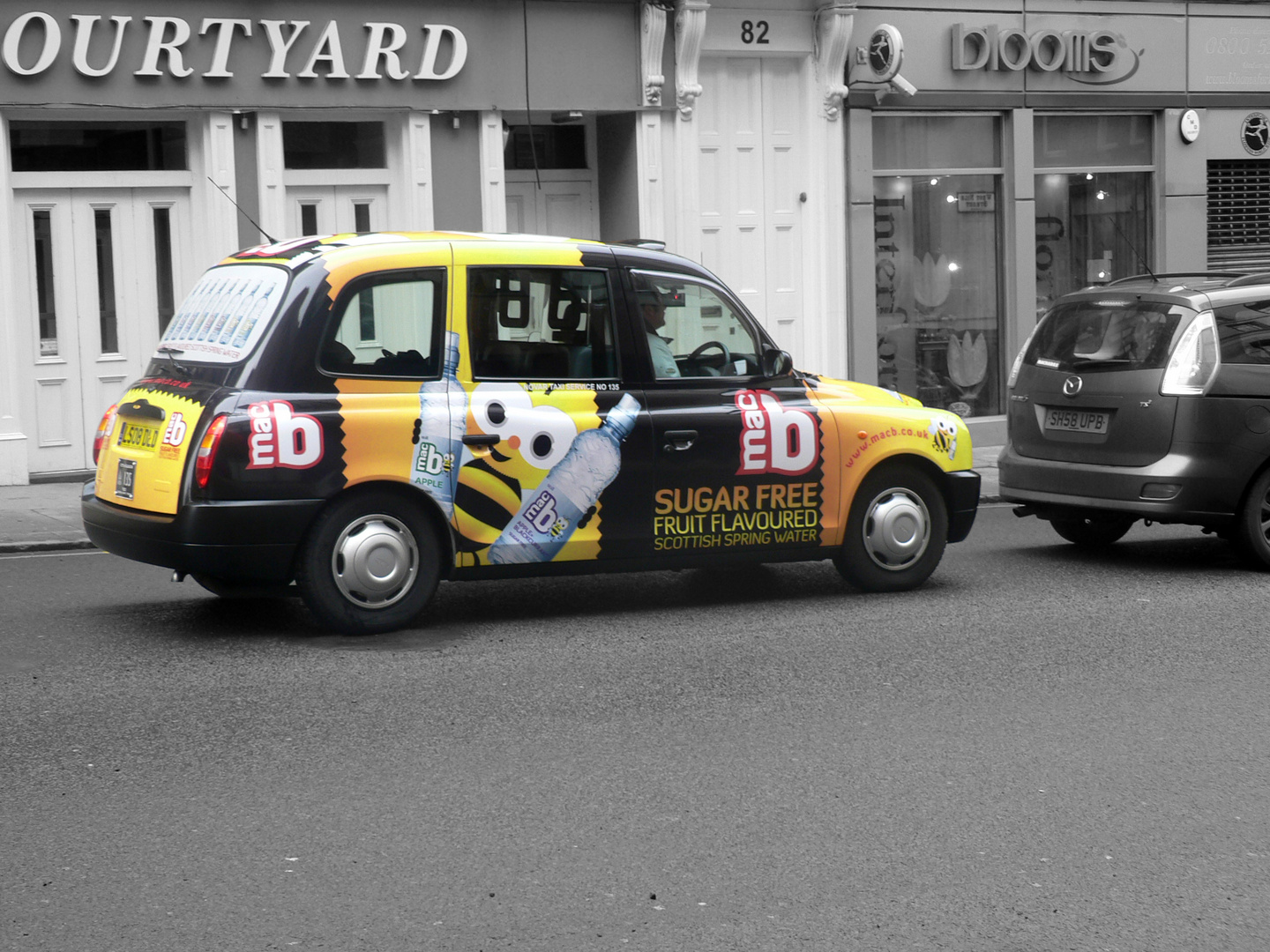 Taxi in Glasgow
