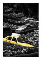 Taxi in Lombard Street