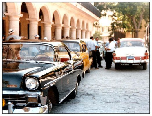 Taxi-Piazza in Havanna