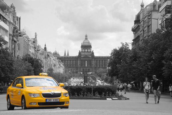 Taxi Prague