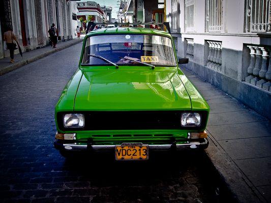 taxi Santa Clara - Cuba