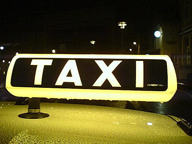 Taxi Zeichen
