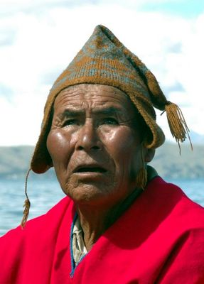 Taxifahrer auf dem Titicacasee