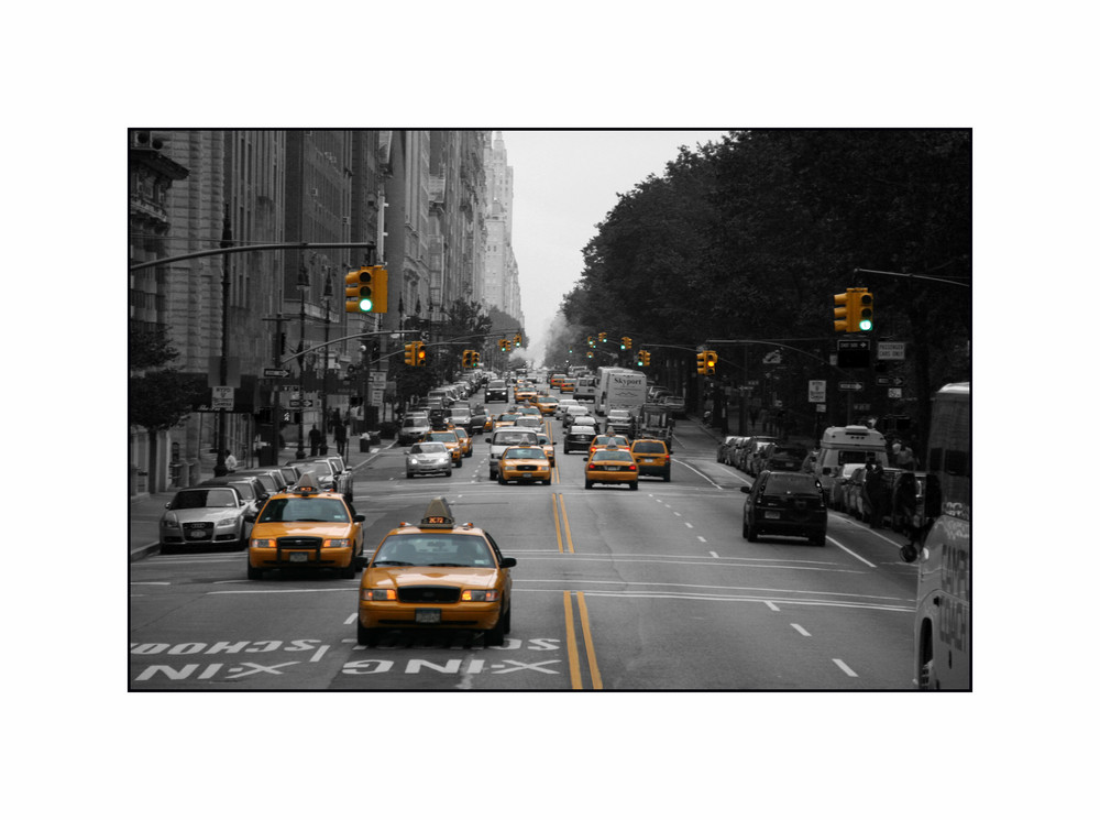 Taxi`s in NEW York