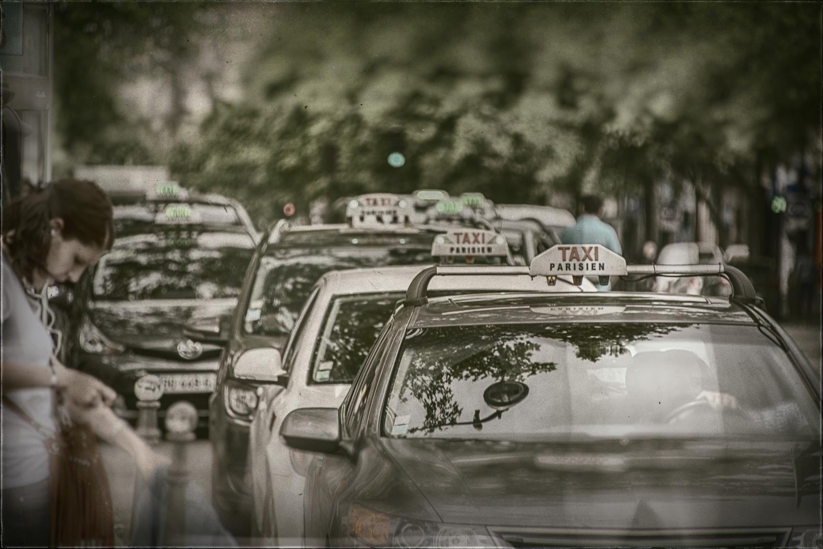 Taxis Parisiens