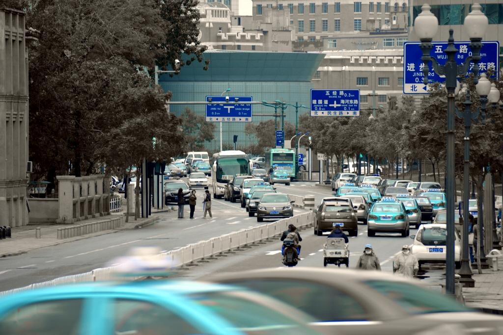 Taxis @ Tianjin #2