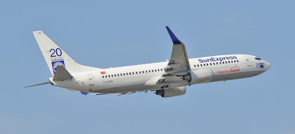 TC-SUO - SunExpress - Boeing 737