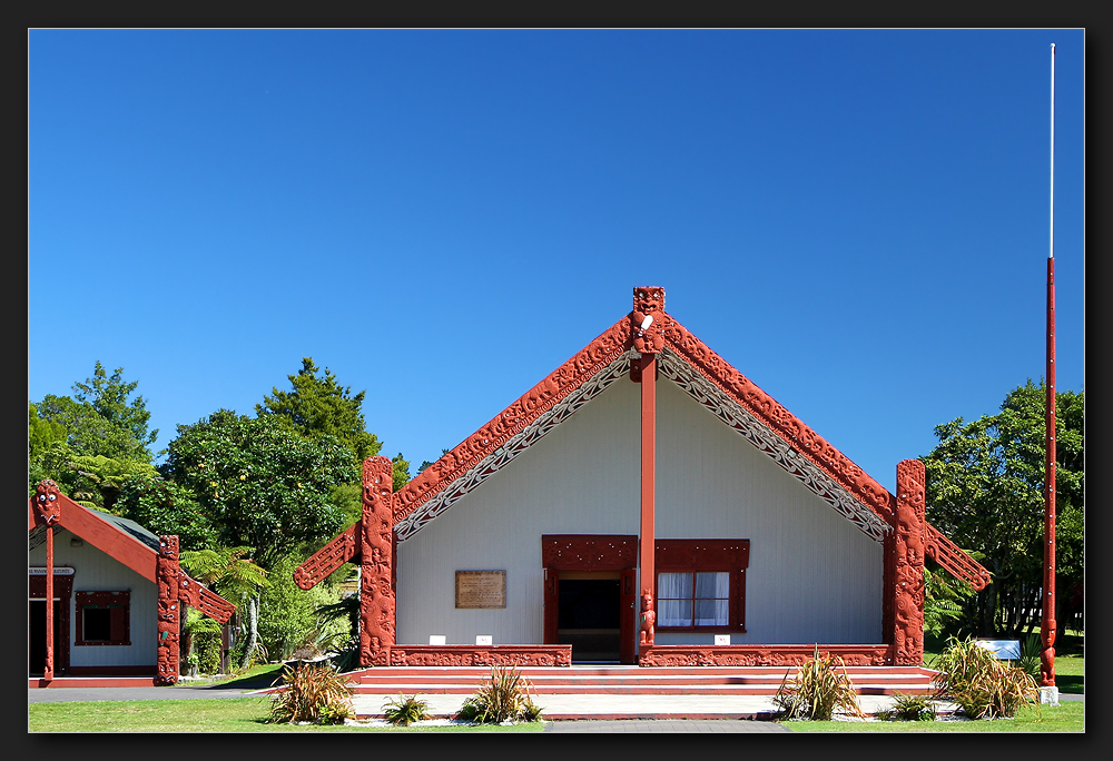 Te Puia - Rotowhio Marae