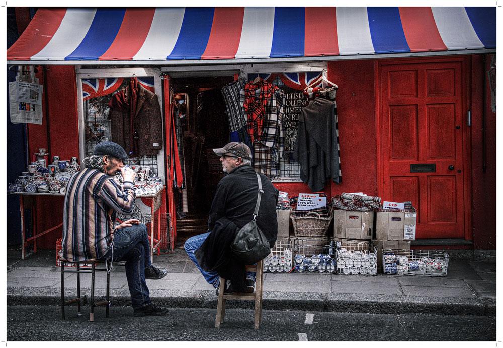 Tea Time auf der Portobello Road