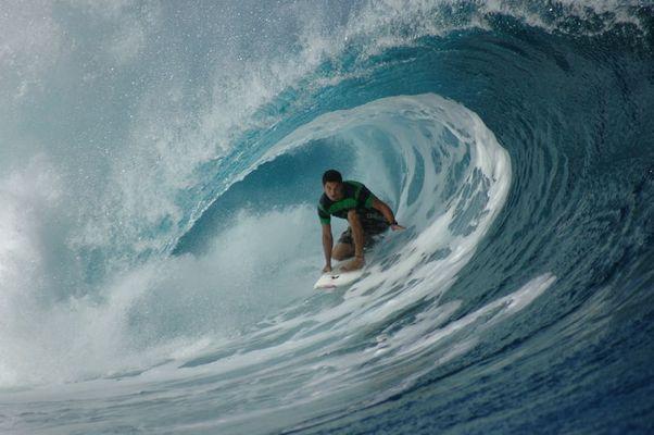 Teahupoo vor Tahiti