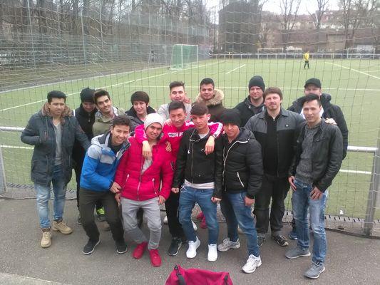 Team Flüchtlinge ESV Neuaubing