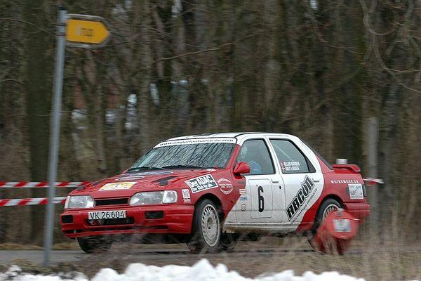Team Hansen/Larsen - Wikinger Rallye 12.03.2005