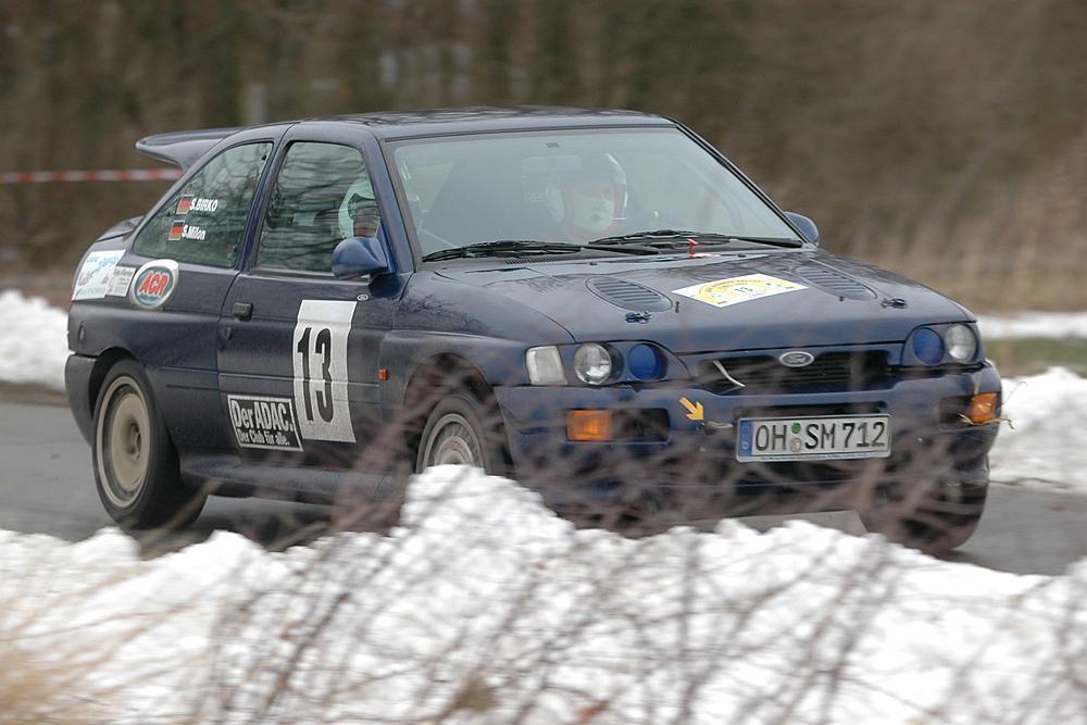 Team Milon/Birko - Wikinger Rallye 12.03.2005