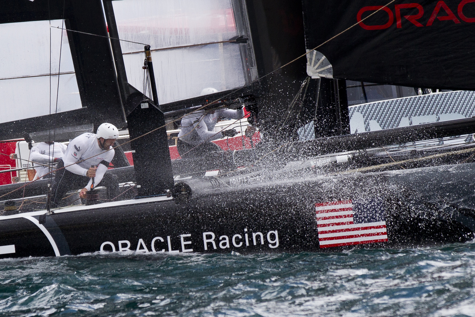 Team Oracle Coutts (USA) - Harte Arbeit!