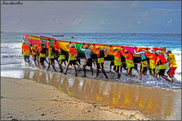 TEAM ROSETTE (tour des yoles 2010 Martinique)