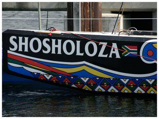 ... Team Shosholoza aus Südafrika 2006 in Kiel