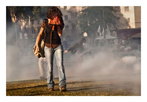 Tears and Tear gases - Rome 15 October 2011