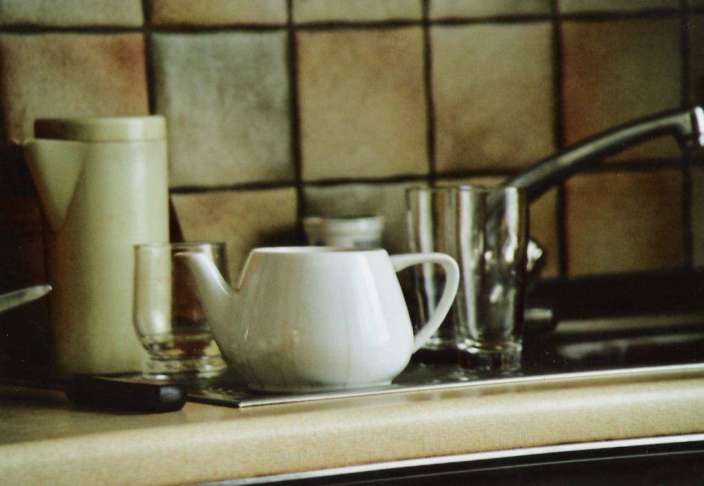 teatime in the kitchen